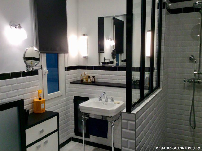 Salle de bain Art Déco